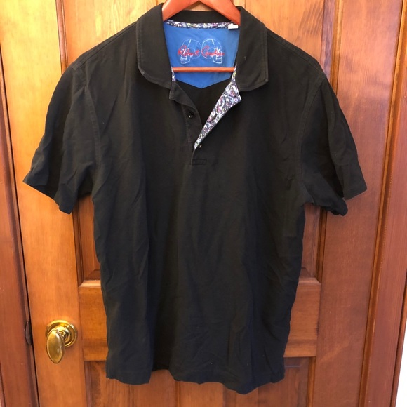 Robert Graham Polo with Patterned Detail